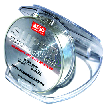 Asso product asso super fluorocarbon fishing line for Fluorocarbon fishing line